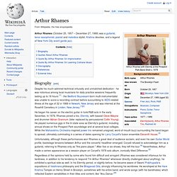 Arthur Rhames