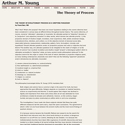 Arthur M. Young: The Theory of Process