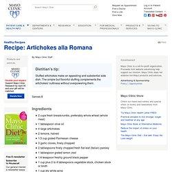 Artichokes alla Romana