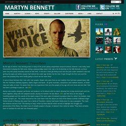 Article - Martyn Bennett and Article12.org's feature on Gypsy Traveller Folk