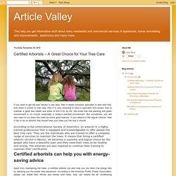 Arborist Service Reston VA