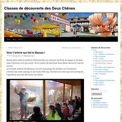 Classes de découverte des Deux Chênes