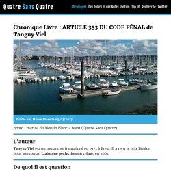 Article 353 du code pénal (Quatre Sans Quatre)
