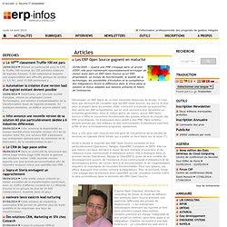 Article/Dépêche - Les ERP Open Source gagnent en mat