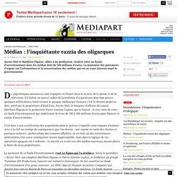 Article offert : Médias : l'inquiétante razzia des oligarques