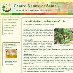 Les petits fruits en jardinage autofertile