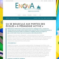 20/02/17: article dans le Métro – Enova – Une autre école à Attert