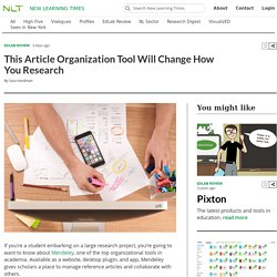 Article This Article Organization Tool Will Change How You Research