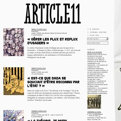 Revue Z : « Porter une critique radicale dans un environnement p