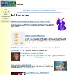 The Doll Restoration Wizard