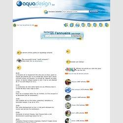 Articles, dossiers et actualités d'aquadesign.be