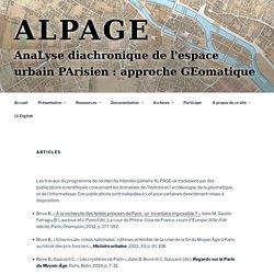 Articles - Alpage
