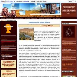 Les Himbas et le barrage d'Epupa