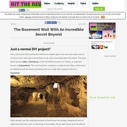 Articles - The basement wall with an incredible secret beyond - Hit the News