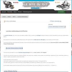 Le Site du NXT : Articles - Les blocs mathématiques