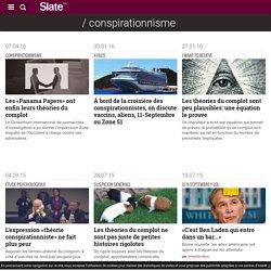 Tous les articles de la rubrique conspirationnisme