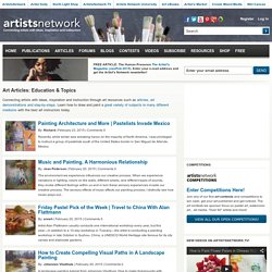 Art Articles: Education & Topics Archives - Artist's Network