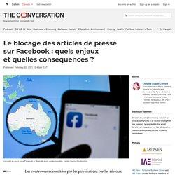 Le blocage desarticles depresse sur Facebook: quels enjeux etquelles conséquences?