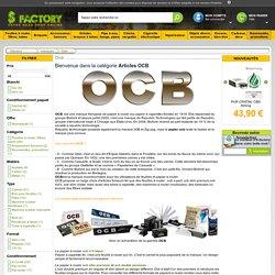 OCB, papier ocb, Articles OCB, Grinder, pipe à eau, bang, feuilles à rouler OCB, tubes à cigarettes, briquet, balance. Smoke-shop.