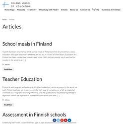 Finland School of Education