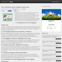 Top 10 Articles About Flipped Classrooms