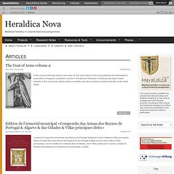 Articles | Heraldica Nova