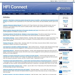 Articles - HFI Connect