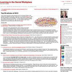 Top 50 articles of 2013