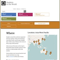 Articles by Location - Asia West Pacific
