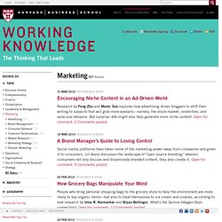 Articles About Marketing