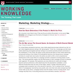 Articles About Marketing: Marketing Strategy
