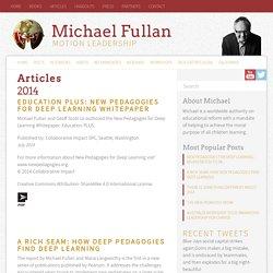 Articles - Michael Fullan, OCMichael Fullan, OC
