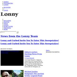 Lonny Blog - Home
