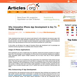 Hire iOS Developers for Great Business Opportunity