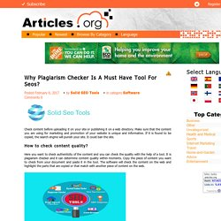 Why You Need Article Rewriter?