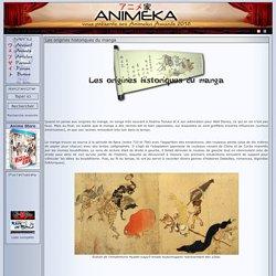 Articles : Les origines historiques du manga