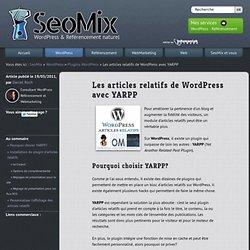 Les articles relatifs de WordPress avec YARPP