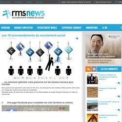 10 articles pour faire le point sur l'usage des réseaux sociaux dans le Recrutement 2.0