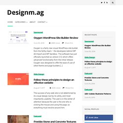 Web Design Blog - Designers Inspiration Community - Web Development Blog - Web Design Blog – DesignM.ag