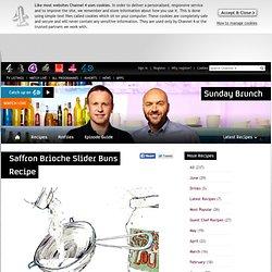 Sunday Brunch - Articles - Saffron Brioche Slider Buns Recipe