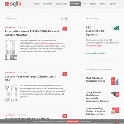 Articles – SQLBI