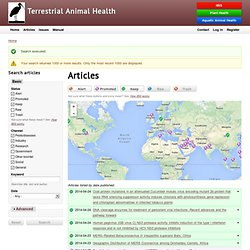 Terrestrial Animal Health