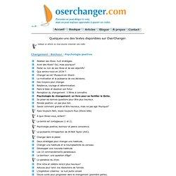 articles et videos de Marie Bérubé et Marc Vachon Oserchanger.com