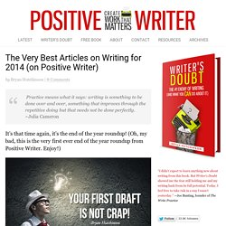 The Very Best Articles on Writing in 2014