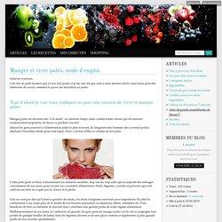 Articles - Zéro régime