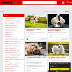 ArticleTed - News and Articles