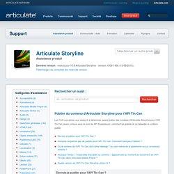 Publier du contenu d'Articulate Storyline pour l'APITin Can