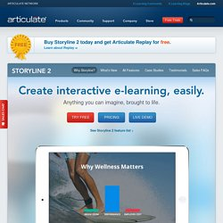 Articulate Storyline 2 - Online Training Software