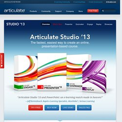 Rapid E-Learning Studio