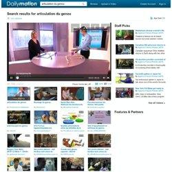 articulation du genou vidéos sur Dailymotion